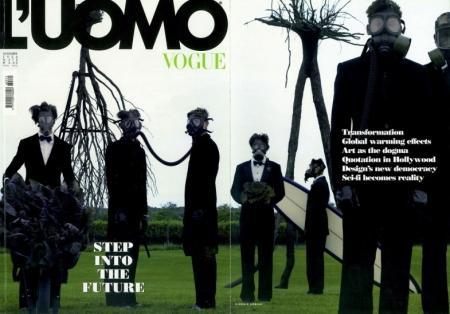 step into the future l'uomo vogue